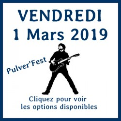 Entrée -  vendredi 1 Mars 2019