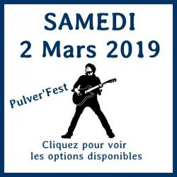Entrée -  samedi 2 Mars 2019