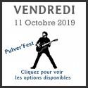 PULVER'FEST - Le vendredi 11 Octobre 2019